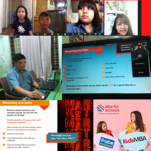 Tutors in Myanmar are the first to deliver the ABE Endorsed KidsMBA course online.